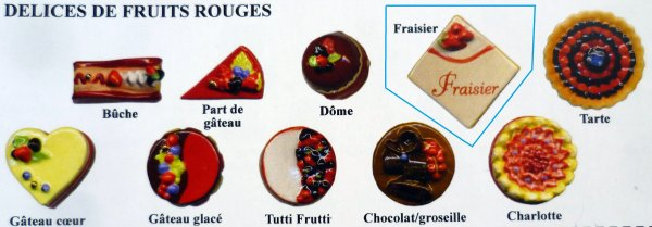 DELICES  DE  FRUITS  ROUGES  ( recherches )