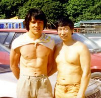 Grand Master ChiuChiLing  with jackie chan