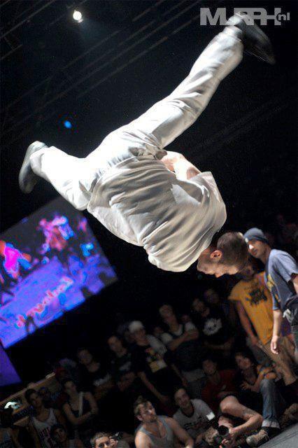 Breakdancer dans les airs !