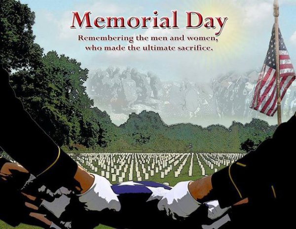 Happy Memorial Days!