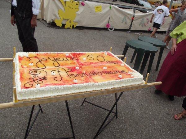 Le plus grand gâteau que j'ai fait :)