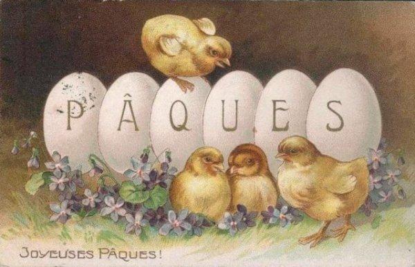 Un bon week-end Pascal à toutes et à tous !