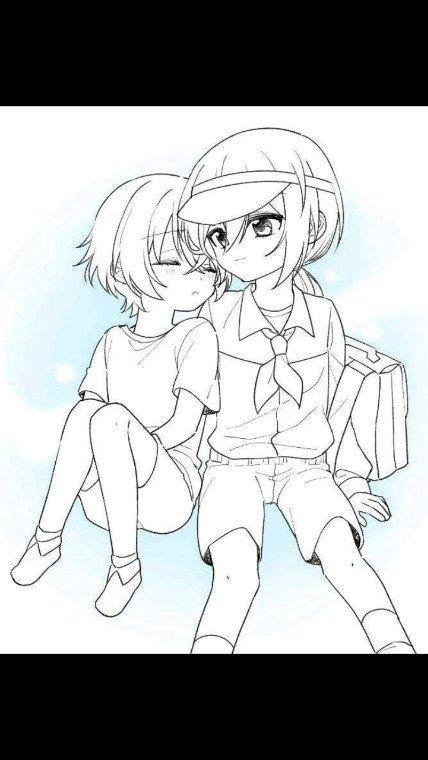 Keika et Ki petits ❤