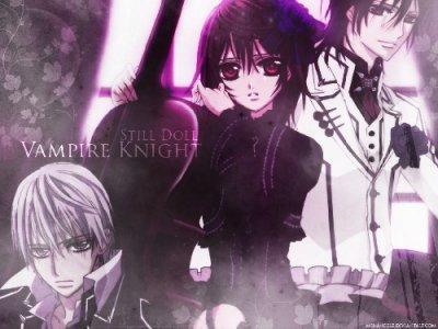 nouvelle fanfic sur vampire knight ^^