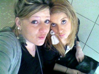 moi et ma bel soeur!!! les inséparable