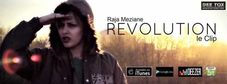 Raja Meziane - Révolution (official Music Video)