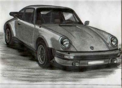 Porsche 911 en dessin porsche 911 - Dessin de porche ...
