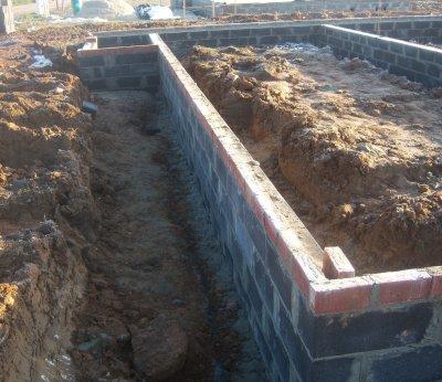 23/01/2012 : fondations terminées