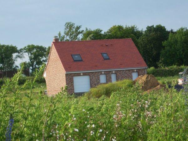21/06/2012 : Pose des menuiseries - Maison hors d'eau, hors d'air