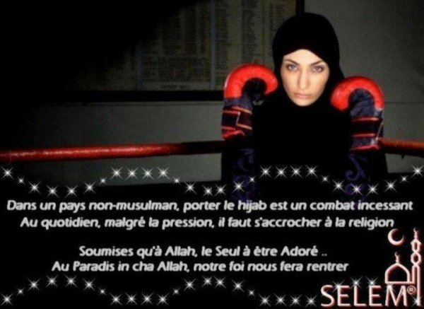 Le Hijab est l'une des plus belle chose que l'Islam m'a apportée <3