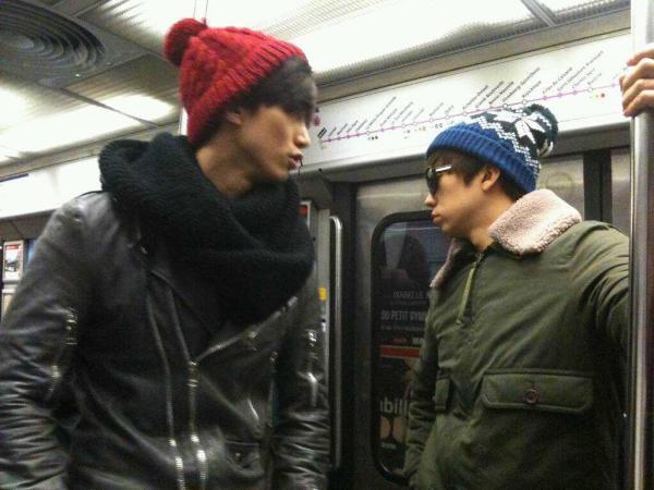 les 2pm dans le métro parisien !!
