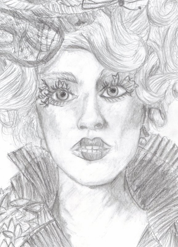 Effie Trinket par..Moi!