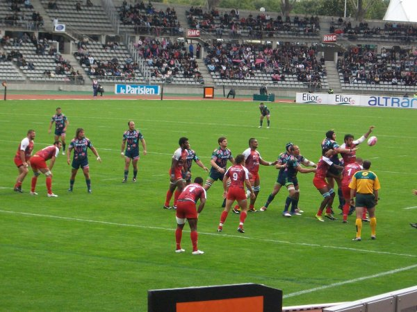 Stade Français - Montpellier 9e journée de Top 14