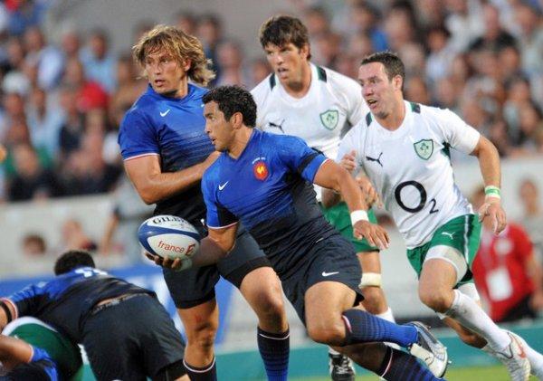 France - Irlande Match préparatoire pour la Coupe du Monde