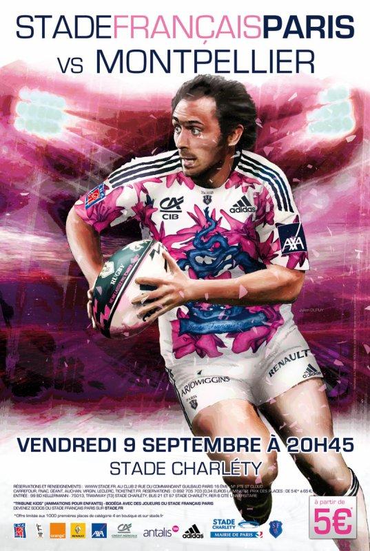 Stade Français - Montpellier 3e journée de Top 14