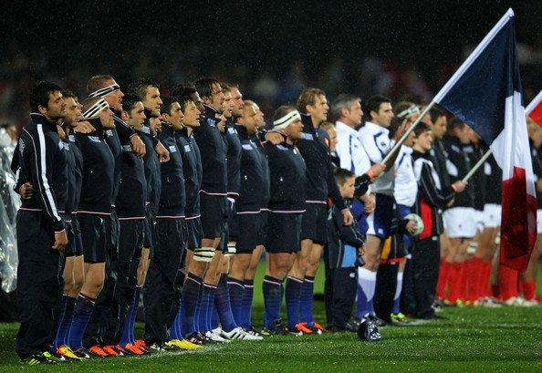 France - Canada Deuxième match de poule de Coupe du Monde
