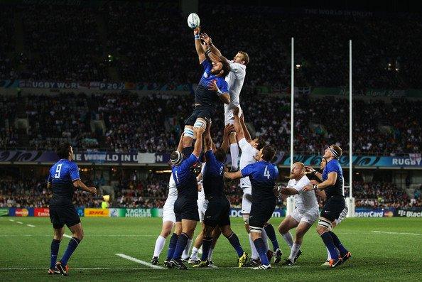 France - Angleterre Quart de finale de la Coupe du Monde