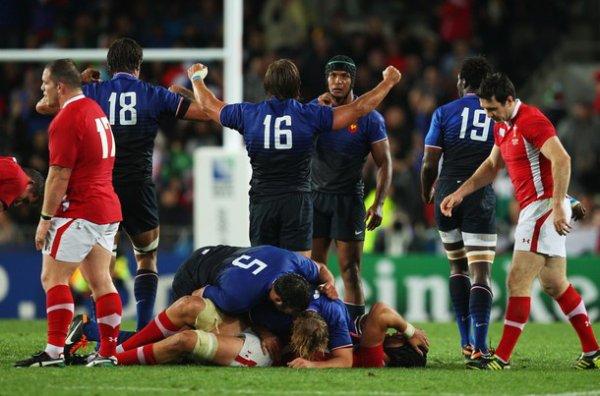 France - Pays de Galles Demi-finale de la Coupe du Monde