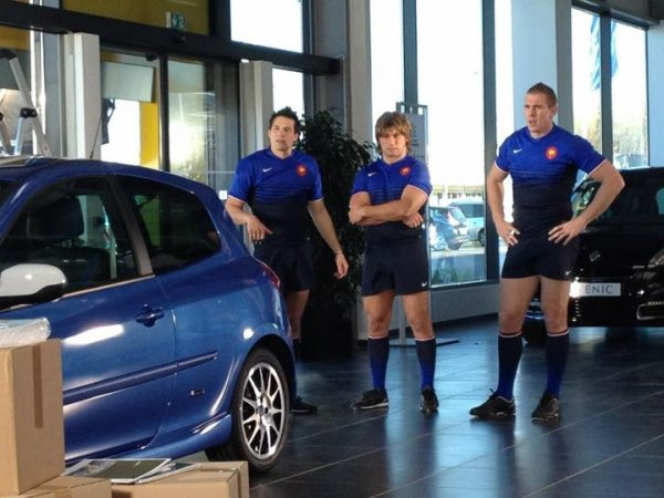 Szarzewski, Harinordoquy & Trinh-Duc bientôt dans une pub Renault !