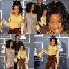 .. La famille Smith aux Grammy Awards sans Jaden , finalement le trio de Willow Justin et Usher n'a pas eu lieu ! Un Top sa tenue ? Vos avis . ..