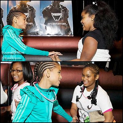 .. Willow Smith et ses amis a une Skate Party a Chicago au Fleetwood Roller Rink le 21/02 . Top ou Flop ? ..