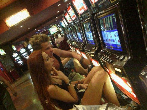 Gaelle au Casino