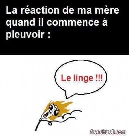 Le lingeeeeee !!!