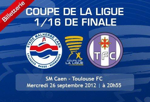 Caen reçoit une L1 en Coupe de la Ligue (TFC)