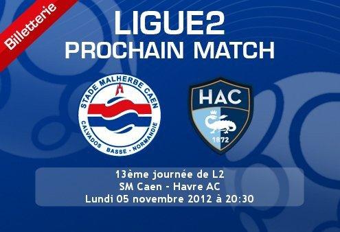 Caen 2-0 Le Havre : La Normandie est bleu et rouge !