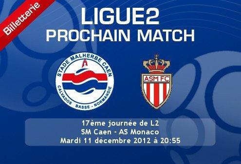 Caen 3-0 Monaco