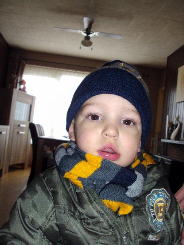 Mon fils qu'il est beau je t'aime