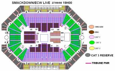 Plan de salle pour smackdown ecw live bercy blog de for Porte z bercy