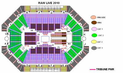 Plan de salle bercy blog de shows wwe en france for Porte z bercy
