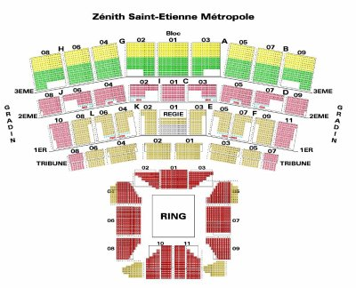 Reservation zenith toulouse for Interieur zenith toulouse