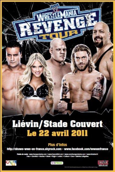 Et voici l'affiche qui sera dans la région de Liévin/Lens/Douai/Wasquehal très bientôt