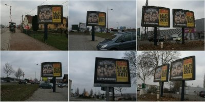 Voici des photos de la campagne d'affichage pour la WWE à Strasbourg. Ca pète!