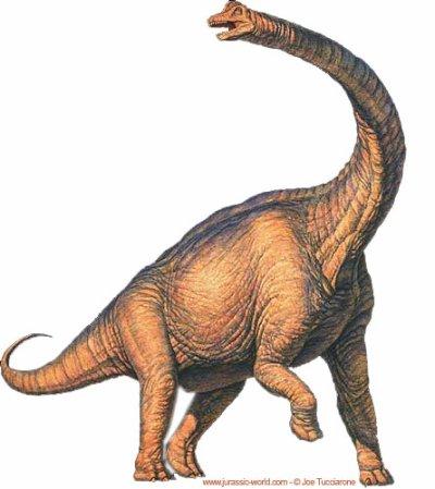 brachiosaure dan le premier jurassik park