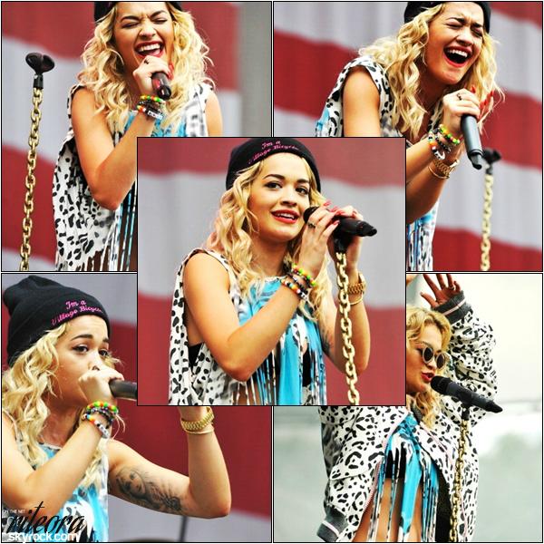 [a=].   02/09/2012   Rita Ora  à performé  au festival Made In America au Benjamin Franklin Parkway .   [a=].
