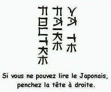 si tu arive pas a lire le japonais penche la tête a droite