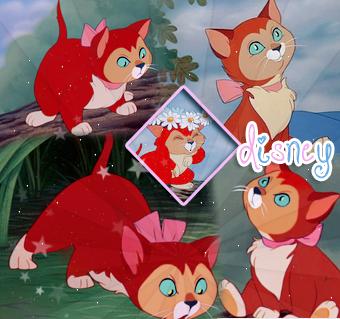 Dinah - Alice au Pays des Merveilles.