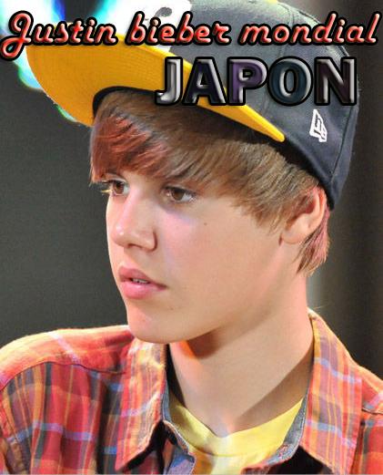 Justin au Japon