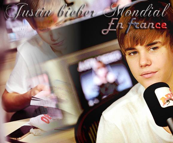 Justin en France♡