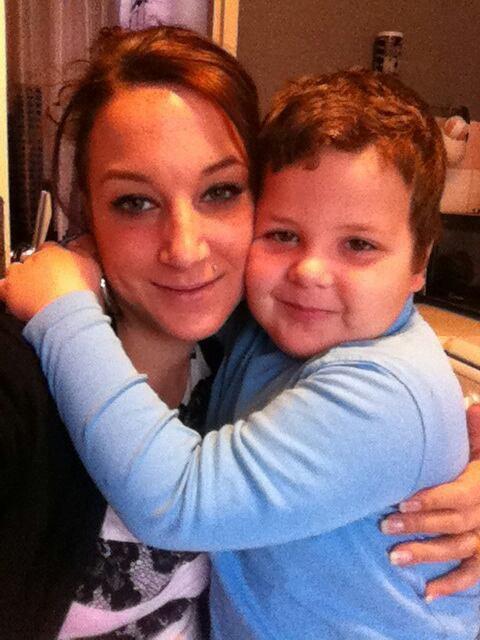 Ma fille et mon petit fils