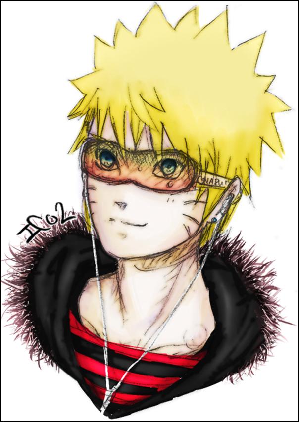 Sasuke - Naruto - Gaara
