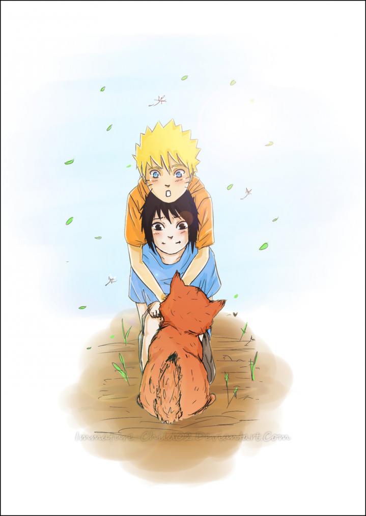 ImaGes en vrac ! Naruto - Sasuke