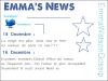 Le magasine en ligne Dirrty glam a consacré sa couverture du mois de décembre à notre belle Emma, l'occasion pour nous de découvrir une toute nouvelle interview d'Emma Emma a laisser deux message sur  sonTwitterla traduction est en dessous