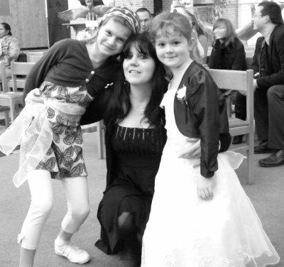les 3 filles de la maison