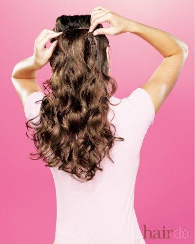 CLIP-IN: Pour avoir de long et beaux cheveux en 5 minutes.