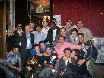 le titre de champion cecifoot 2010