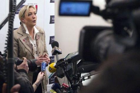Marine Le Pen décroche ses 500 signatures